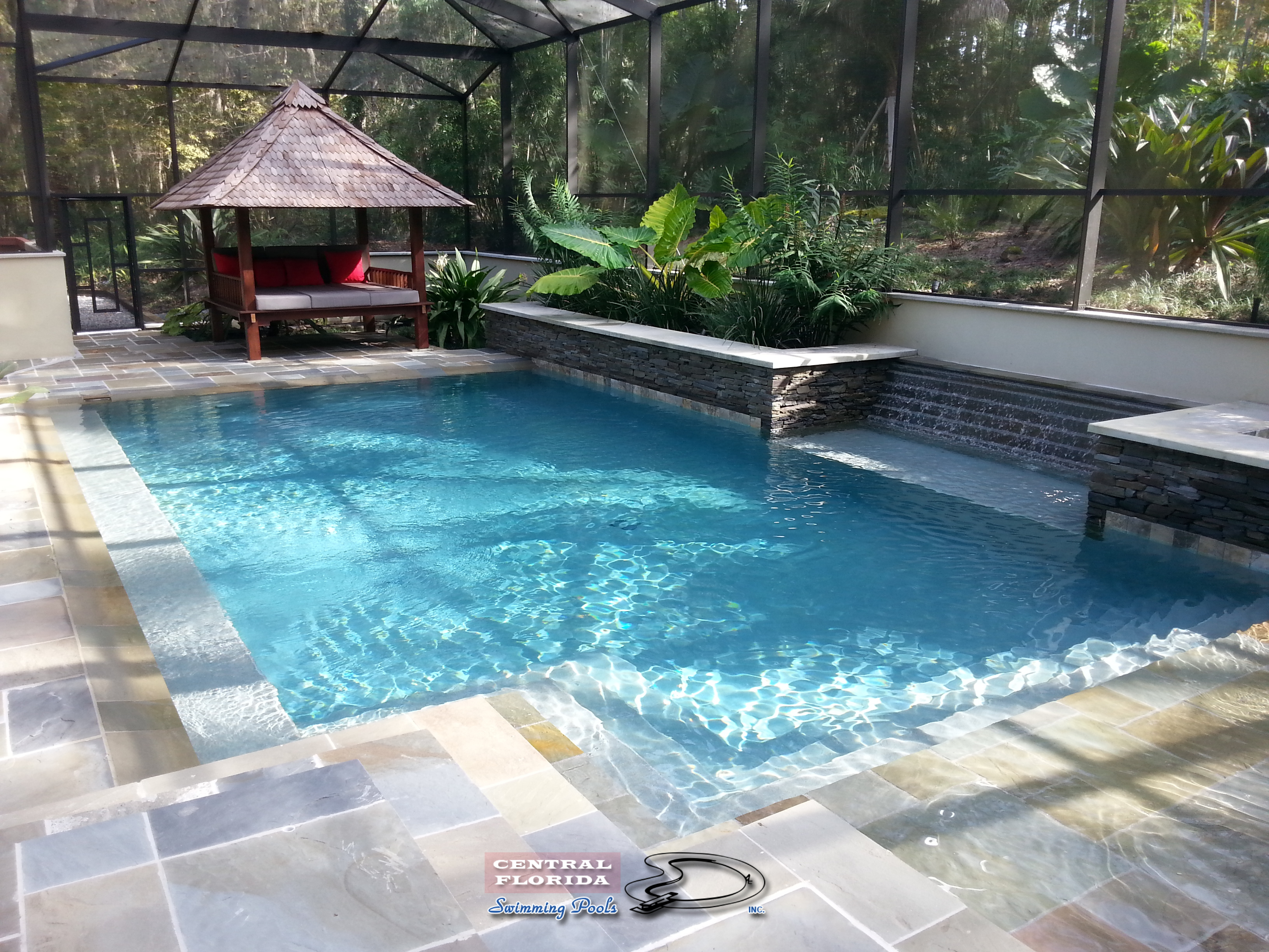 Central florida swimming pools inc website home page for Pool designs florida