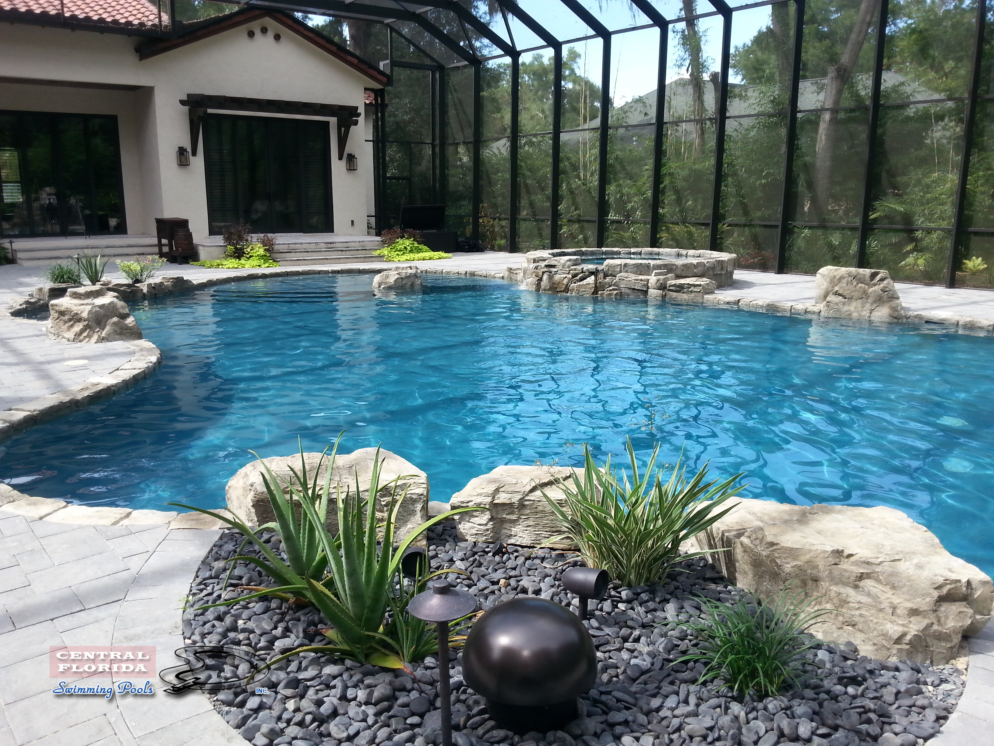 Central Florida Swimming Pools Inc Website Home Page