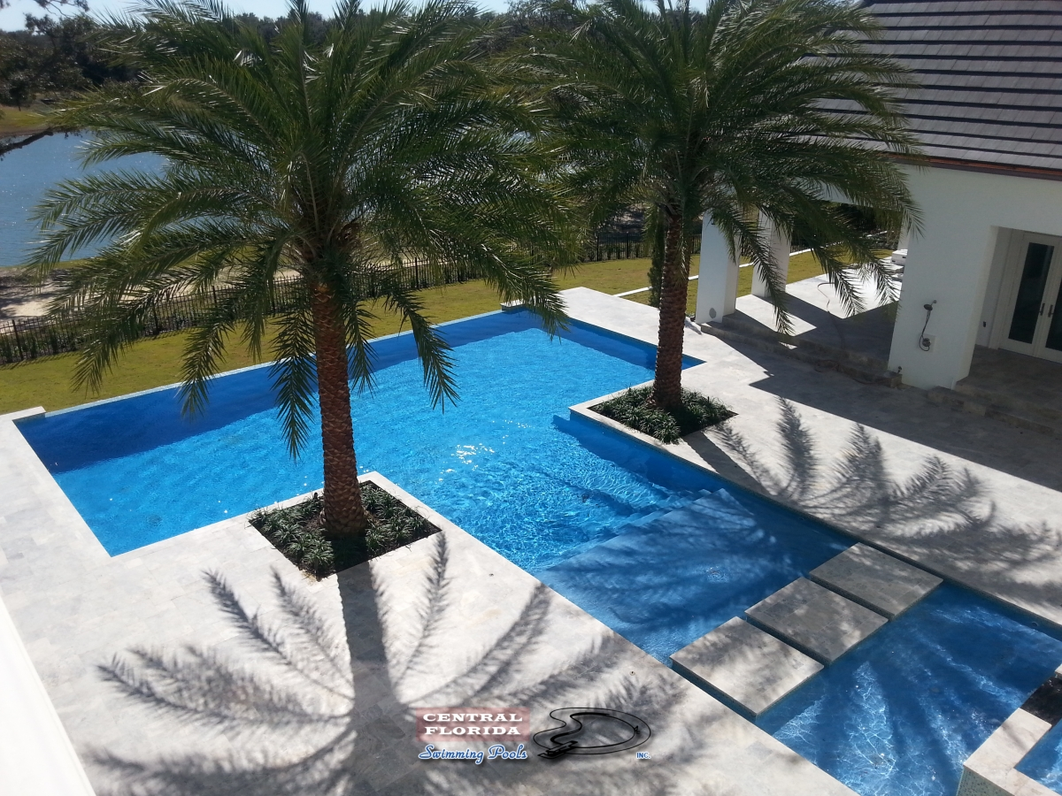 Central Florida Swimming Pools Inc Pictures Of Custom