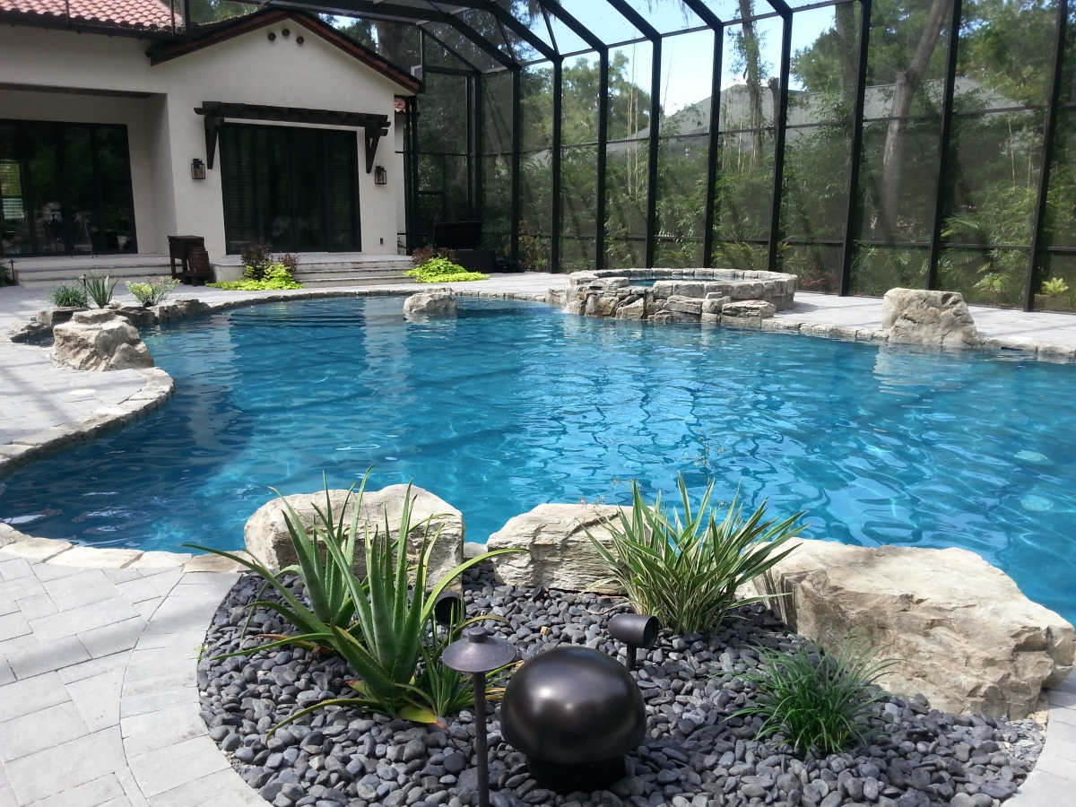Central florida swimming pools inc pictures of custom for Pool designs florida
